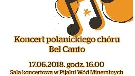 Koncert chóru Bel Canto Kliknięcie w obrazek spowoduje wyświetlenie jego powiększenia