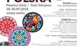 """Międzynarodowy Festiwal Spółdzielczych Zespołów Artystycznych """"Tęcza Polska"""" Kliknięcie w obrazek spowoduje wyświetlenie jego powiększenia"""