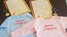 """Wyprawka od Burmistrza Miasta - koszulka z napisem: """"Jestem z Polanicy"""" Kliknięcie w obrazek spowoduje wyświetlenie jego powiększenia"""