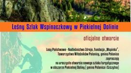 Otwarcie Leśnego Szlaku Wspinaczkowego Kliknięcie w obrazek spowoduje wyświetlenie jego powiększenia