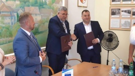 W dniu 15 czerwca 2019 r. podpisana została umowa partnerska z Kartuzami – stolicą Kaszub Kliknięcie w obrazek spowoduje wyświetlenie jego powiększenia