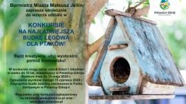 Światowy Dzień Ziemi - konkurs na budkę lęgową dla ptaków! Kliknięcie w obrazek spowoduje wyświetlenie jego powiększenia
