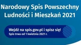 Plakat informacyjny dot. spisu powszechnego