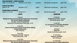 Kalendarz imprez wakacyjnych w Polanicy-Zdroju Kliknięcie w obrazek spowoduje wyświetlenie jego powiększenia